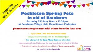 Peckleton Spring Fete - Answers to questions